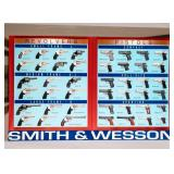 Poster Smith and Wesson Revolvers and Pistols