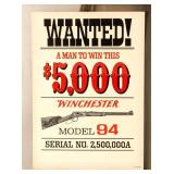 Advertisement Winchester Wanted Poster
