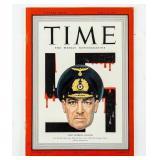 Time Magazine April 20 1942 Nazi Admiral Raeder