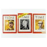 Lot of Time Magazines WWII China / Japan / Germany
