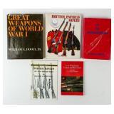 Lot of World War I Weapon Books