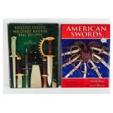 Lot of U.S. Military Swords and Knives Books