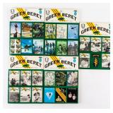 Lot of Green Beret Annuals