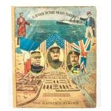 Poster Celebrating the Allied Victory of WWI