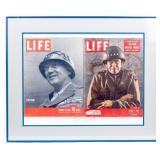 Framed LIFE Magazine 1945 / 1951