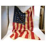 48-Star Vintage American Flag