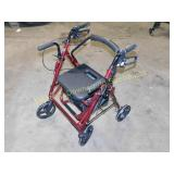 Drive Rolling Walker With Brakes