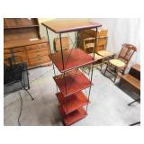 5 Tier Wire Frame Modern Shelving Unit