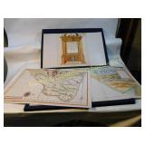 Boxed Set of Vintage 1600s State of Brasil Reprodu