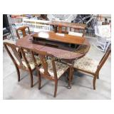 Harden Furniture Walnut Finish Dining Table