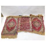 3 Zrabi Brazilian Man Made Silk Tapestries