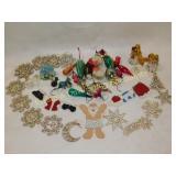 Apx. 2 Dozen Vintage Christmas Ornaments