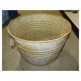 """17 1/2"""" W Galvanized Steel Bucket"""