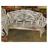 Vintage Cast Iron Outdoor Bench