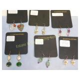 6 Pair Premium Carded Sterling Earrings Wire