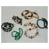 Lot of 6 Semiprecious Necklaces
