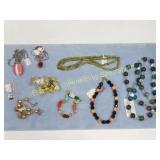 Premium Lot Semiprecious GF & Sterling Necklaces