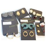 9 Pairs of Carded Post Earrings
