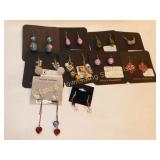 10 Pairs Carded GD and Sterling Earrings Wire