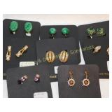 8 Pairs Carded Clip Earrings