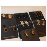 7 Carded Clip Earrings