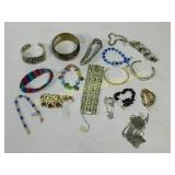 Bracelets and Cuffs Rhinestone Howlite and More