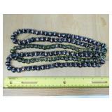 3 Strands Hand Blown Glass Beads