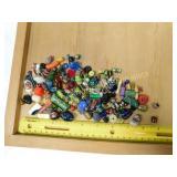 1# Glass Granite Millefiori Beads