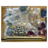 1# Assortment of Jewelry Cords Wires & Metal Beads