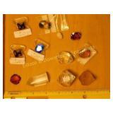 .5# Large Faceted Stones Quartz Citrine Crystal