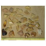 #.5 Natural Amber Mineral Specimens
