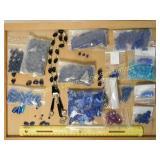 2# Blue Czech Cobalt & Glass Beads