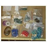 .5# Jade Amber MOP Stone Beads & Pendants