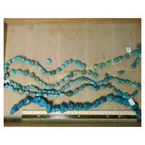 1# 5 Turquoise Bead Strands