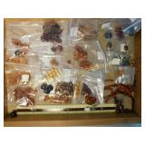 1# Large Lot of Various Amber Beads