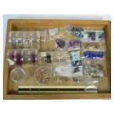 1.5# Various Glass Metal & Plastic Beads