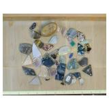 1# Polished Semiprecious & Stone Cabachons + More