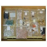 1# Rose Quartz Agate Jasper + Semiprecious Beads