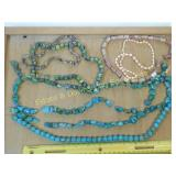 1# Turquoise and Other Natural Stone Bead Strands