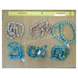 1# Turquoise Bead Strands