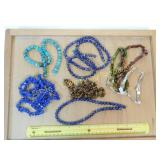 1# 7 Strands Lapis Turquoise and Other SP Beads