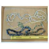 1# Jade Seaglass and Glass Beads