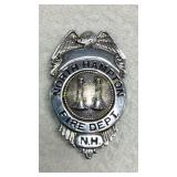 North Hampton NH Fire Department Badge