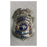 Smith & Warren USA Bowman FD Badge