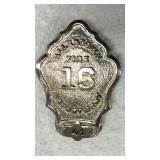 C.G Braxmar Co.Allentown FD Badge