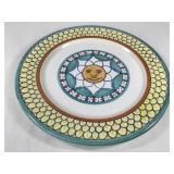 Snyder-Fiorini Signed Handpainted Ceramic Plate