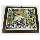 Ceramiche Gialletti Giulio Handpainted Tile