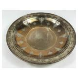 1927 Towle Sterling Silver Embossed Dish