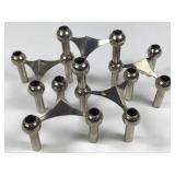 Set of 5 Mid-C Nagel Stoffi BMF Candleholders