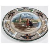 Antique Wedgwood Etruria, Eng Painted Plate